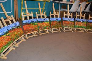 Kunst & Elamus - painting classes for edutainment
