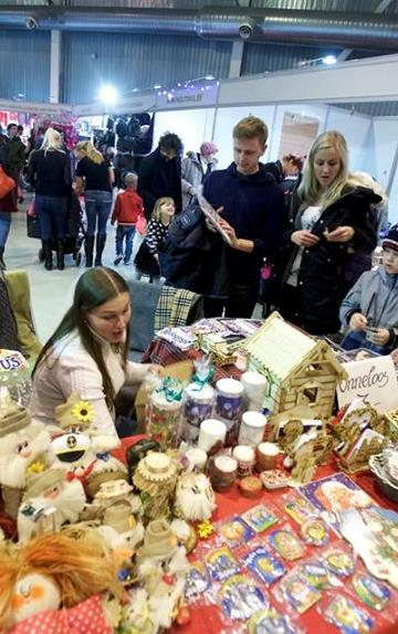 Christmas Fair at the Tartu Exhibition Fair Centre 2017
