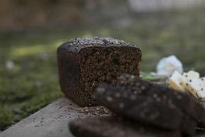 Estonian black bread