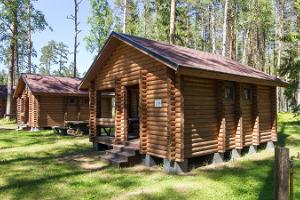 Kauksi campsite, camping cottage for four, equipped with everything you might need