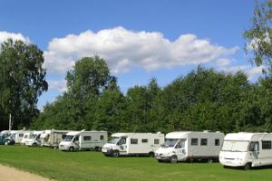 Caravan park of Waide motel