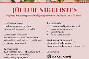 """Christmas Eve in Old Tallinn"" by Niguliste Museum and Reval Café"