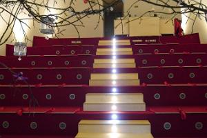 Seating in the planetarium