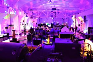Evening event in the lightning hall