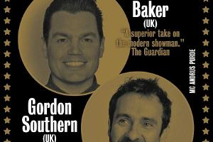 Komeediklubi: Charlie Baker (UK) & Gordon Southern (UK)
