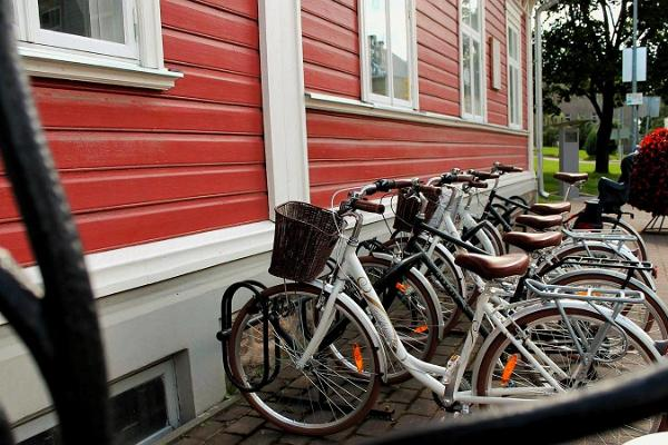 Bicycle rental at Valga Visitors' Centre