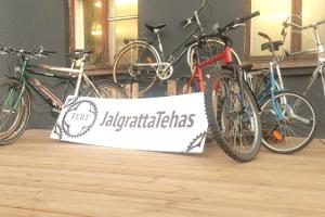 Bicycle rental at the Tartu Experimental Bicycle Factory