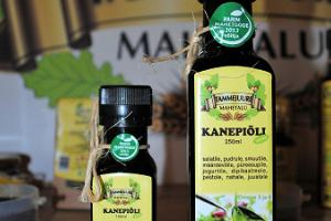 Tammejuure hemp oil