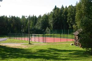 Tennis and basketball courts at Valgehobusemäe Ski and Recreation Centre