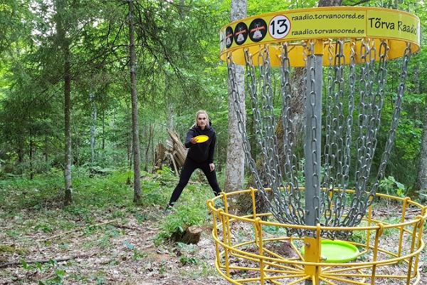Tõrva disc golf park