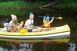 Canoe, boat and SUP board rental at Motel Reiumaa
