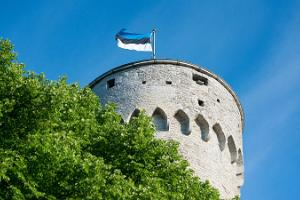 Day of Restoration of Independence of Estonia in the Tall Hermann Tower