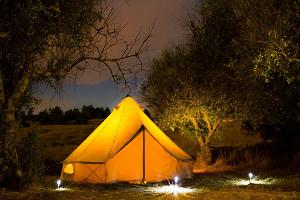 Glamping Pop-up Hotel
