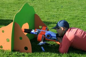 Thematic Nerf games