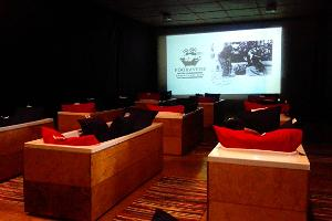 Cosy winter night with a bath cinema and dinner in Pärnu County
