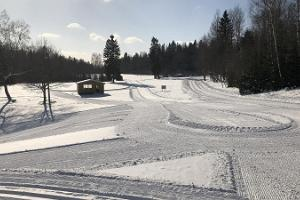 Ski tracks at Mõedaku Sports Centre
