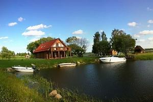 Boat and water bike rental at Rõsna Holiday House