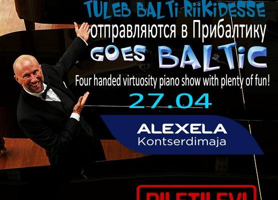 """Pianotainment goes Baltic, """"piano acrobatic act"""""""