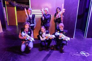 FK Arena: laser-games, disco room, Airsoft, and escape rooms