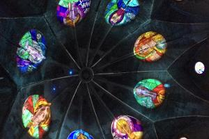 Video installation at Narva Alexander's Cathedral