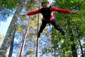 Padise High-Ropes course