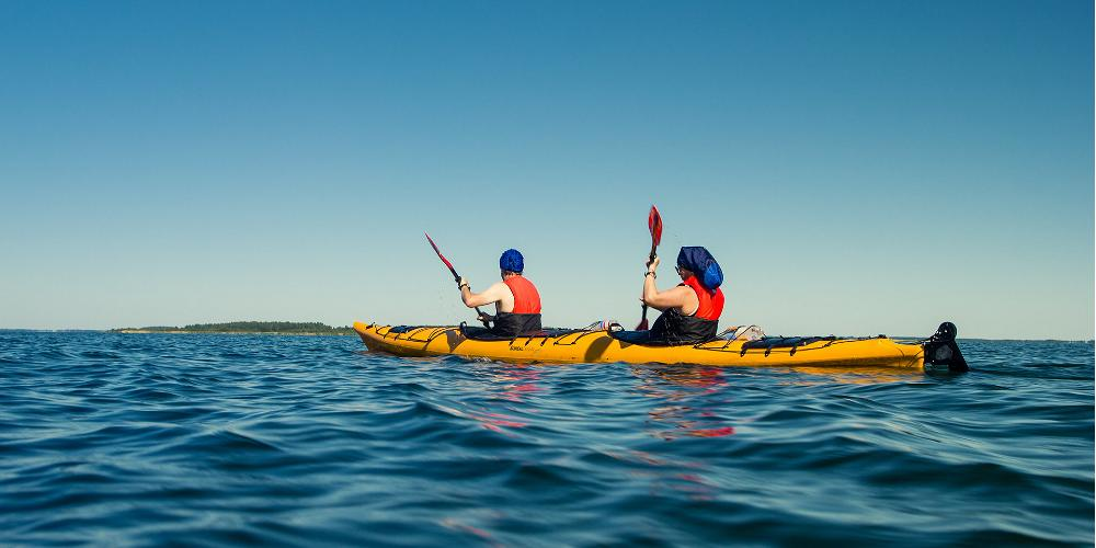 Kayaking around Estonia's Pakri islands. By Richard Nelsson