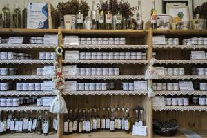 Herb garden shop at Tamme Farm