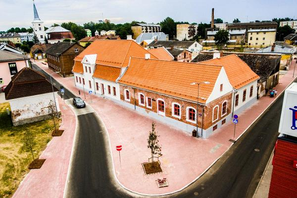 Valga Central Square