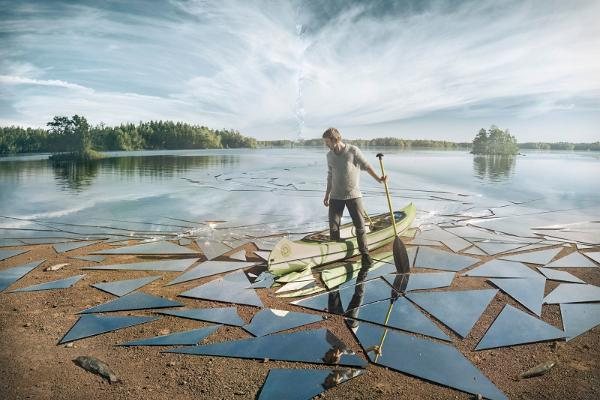Erik Johansson's Places Beyond - surreal photography about dreaming