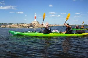 Kayaking with Seikle Vabaks