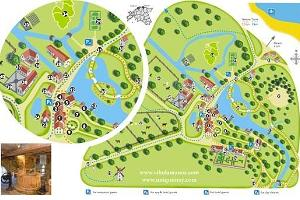 Map of the Vihula Manor Holiday Village