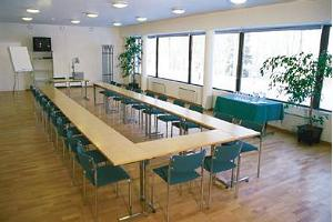 a conference room of Karupesa hotel