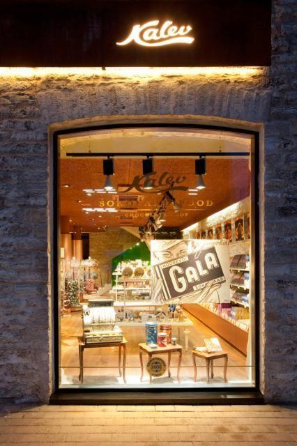 Kalev Chocolate Shop and Sweets Mastery in Rotermann Quarter