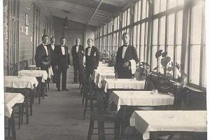 Interior of Kuursaal in the beginning of last century