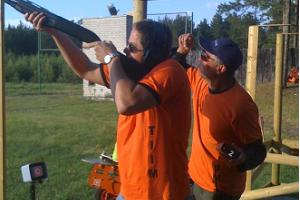 Hunting under the guidance of an instructor