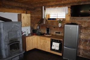 Kitchen of the Oiu Port Holiday Home