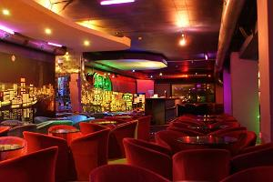 Geneva night club - interior