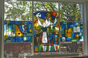 Kannel Cultural Centre - stained glass windows
