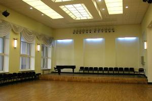 Dance hall at Salme Cultural Centre