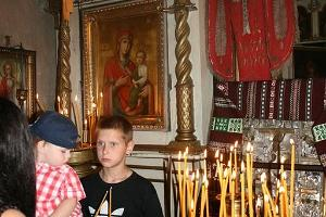 A holy day in Saatse church