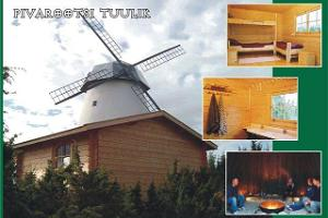 Pivarootsi Windmill - bicycle trips