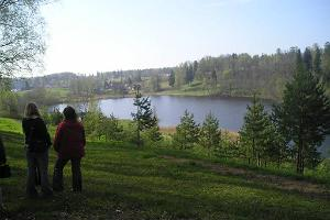 Hiking trail in the Rõuge Primeval Valley