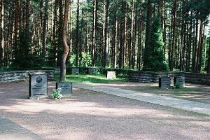 The burial plot of the family of Estonian president Konstantin Päts