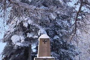 War of Independence Monument in Winter